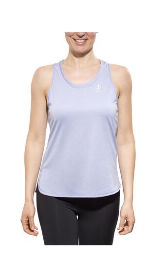 Odlo TEBE - Camiseta Running Mujer - negro azul
